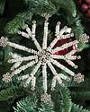 Antiqued Snowflake Ornament Set, 12 Pieces by Balsam Hill Lifestyle 10