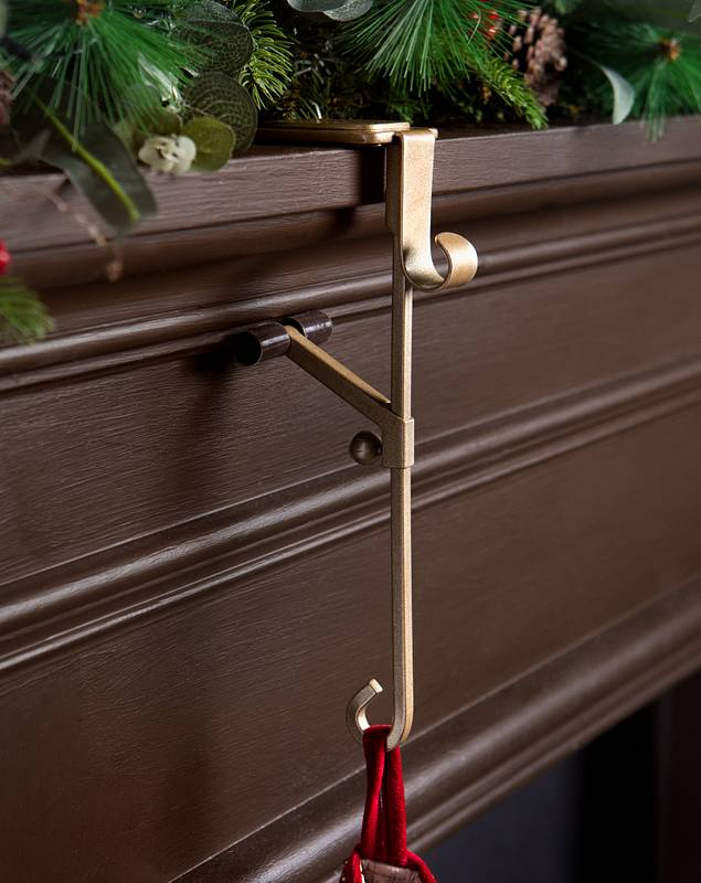 Adjustable Garland and Stocking Holder by Balsam Hill SSC 10