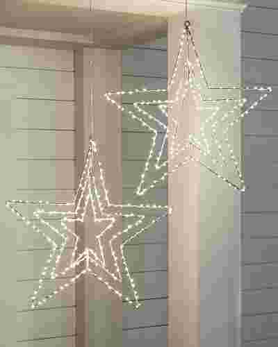 Swivel Outdoor LED Stars by Balsam Hill SSC