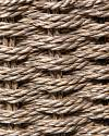 Gray Outdoor Woven Basket Closeup 30 by Balsam Hill