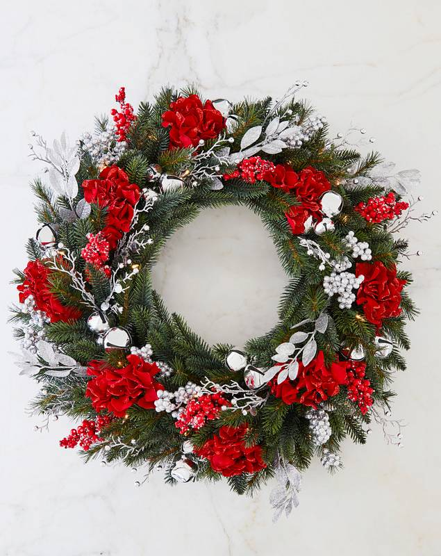 Silver Bells Foliage by Balsam Hill SSC 10