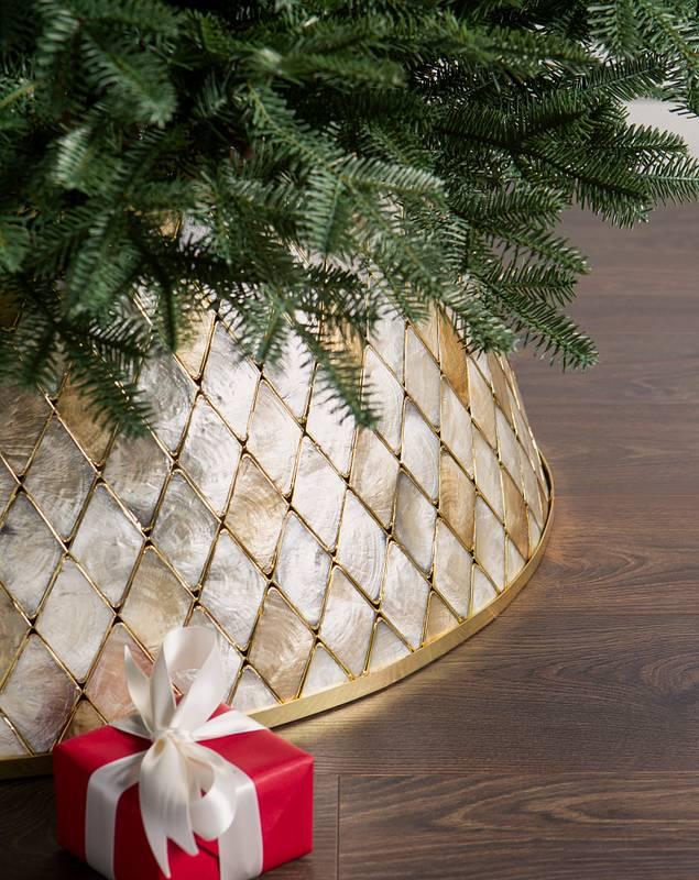Capiz Tree Collar by Balsam Hill SSC