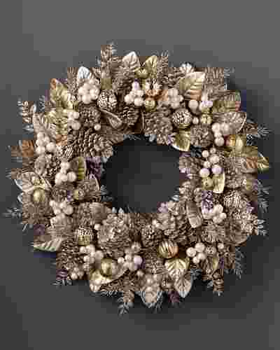 Gilded Glamour Wreath by Balsam Hill SSC