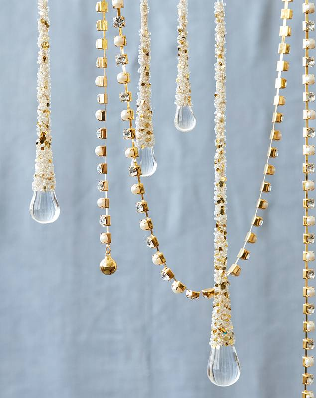 Icy Teardrop Ornaments by Balsam Hill Lifestyle 60
