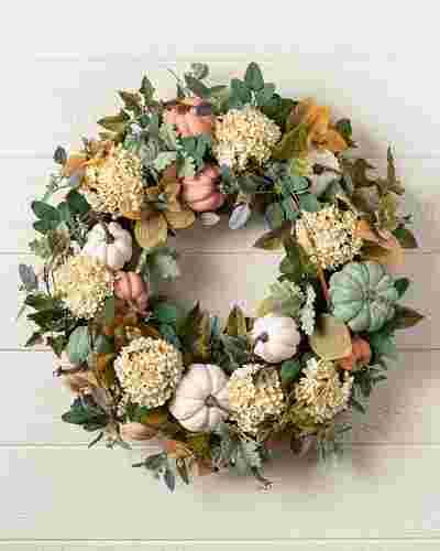 Fairytale Pumpkin Wreath by Balsam Hill SSC