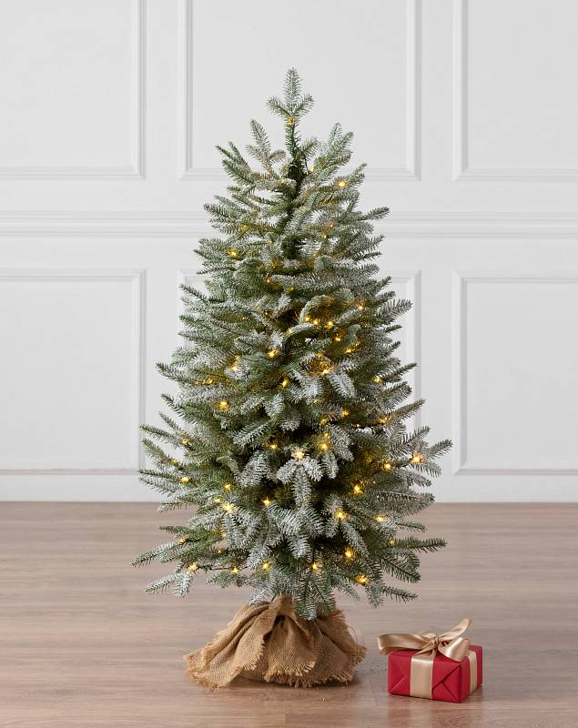 Frosted BH Balsam Fir Tabletop 42 inches LEDCF by Balsam Hill SSC