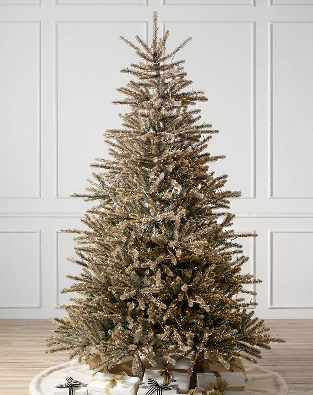 Nicole Miller Champagne Tree by Balsam Hill SSC 10