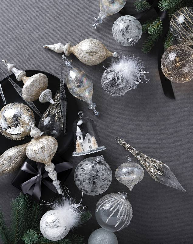 Winter White Ornament Set by Balsam Hill Lifestyle 10