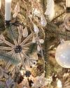Antiqued Snowflake Ornament Set, 12 Pieces by Balsam Hill Blog 30
