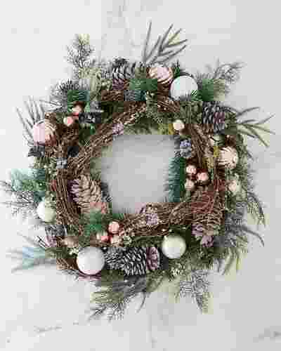 French Country Wreath by Balsam Hill SSC 10