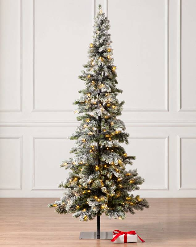 6ft Frosted Forest Pine Tree by Balsam Hill