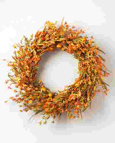 Sunset Meadow Wreath by Balsam Hill SSC 10