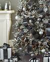Shimmering Metallic Christmas Tree Ribbon by Balsam Hill Lifestyle 120