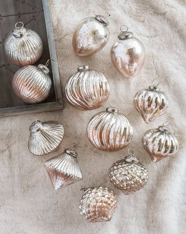 French Country Ornament Set, 12 Pieces by Balsam Hill SSC 30