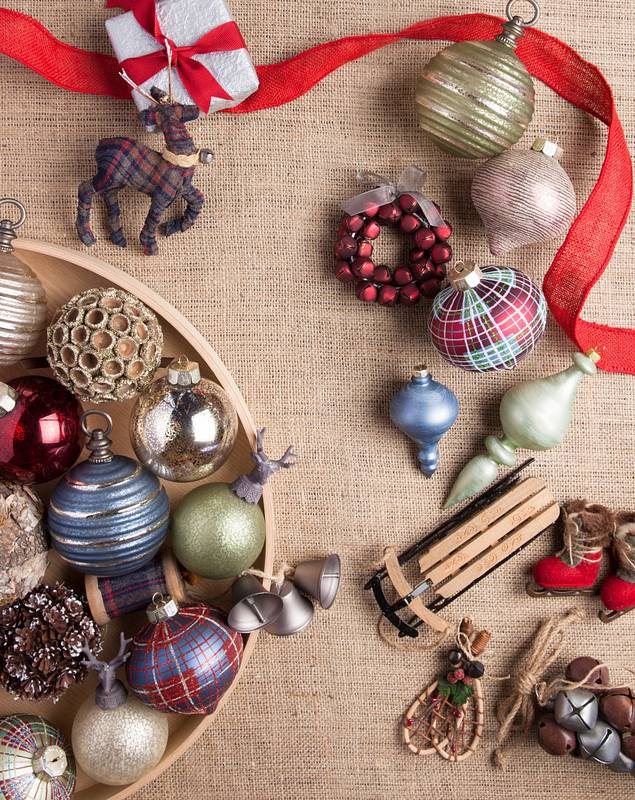 Farmhouse Christmas Ornament Set by Balsam Hill Lifestyle 10