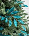 Turquoise Leaves Picks Set of 12 by Balsam Hill SSC 20