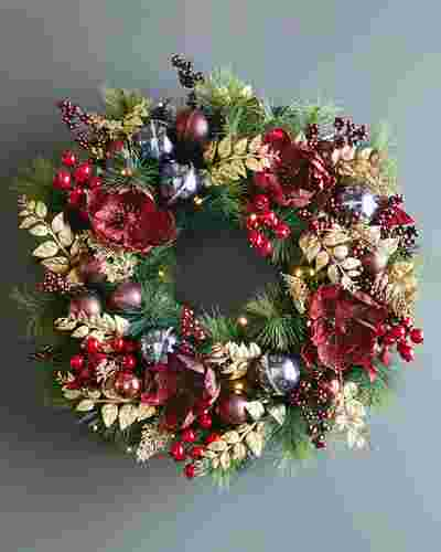 Royal Windsor Wreath by Balsam Hill SSC 10