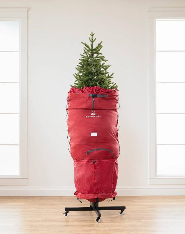 Slim Rolling Christmas Tree Storage Bag by Balsam Hill SSC