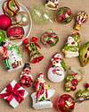Mistletoe and Holly Glass Ornament Set, 35 Pieces by Balsam Hill SSC 10