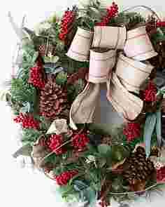 Farmhouse Wreath by Balsam Hill SSCR