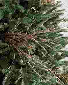 Metallic Berry Spray Picks, Set of 12 by Balsam Hill SSC 20