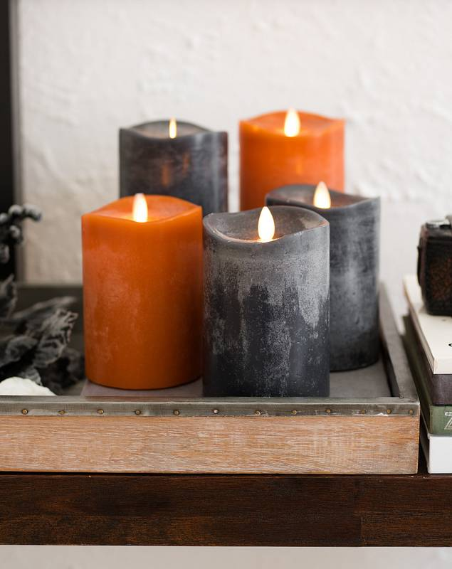 Miracle Flame LED Wax Fall Candle by Balsam Hill Main