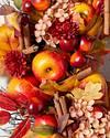 Apple Spice Artificial Wreath by Balsam Hill Closeup 10