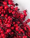 Festive Red Berry Wreath by Balsam Hill Detail