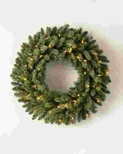 Classic Blue Spruce Wreath by Balsam Hill