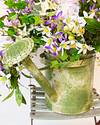 Outdoor Enchanted Garden Foliage in Watering Can by Balsam Hill Closeup