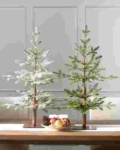 Alpine Balsam Fir Tabletop Tree by Balsam Hill Lifestyle 10