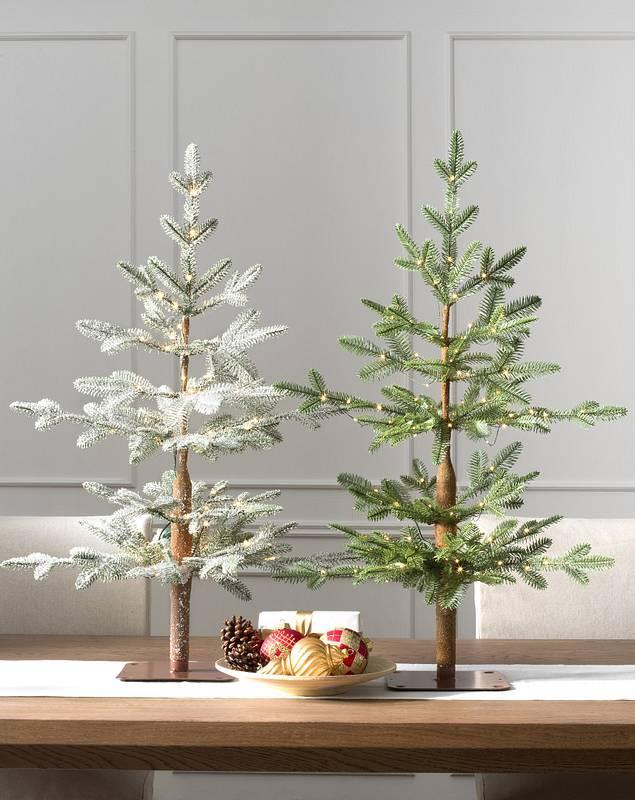 Alpine Balsam Fir Tabletop Tree by Balsam Hill Lifestyle 10