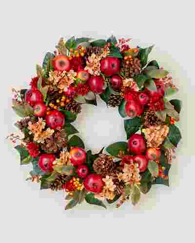Autumn Orchard Wreath SSC by Balsam Hill