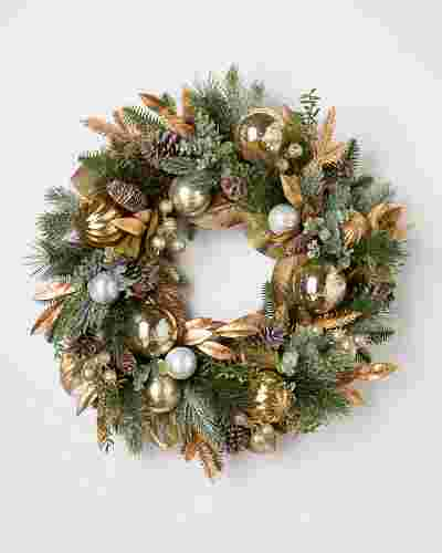 Gilded Forest Wreath by Balsam Hill SSC