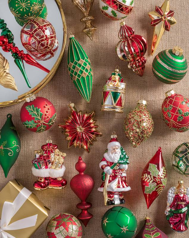 Christmas Cheer Ornament Set by Balsam Hill Lifestyle 10
