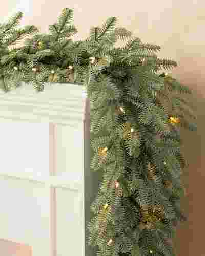 BH Balsam Fir Garland by Balsam Hill SSC 50