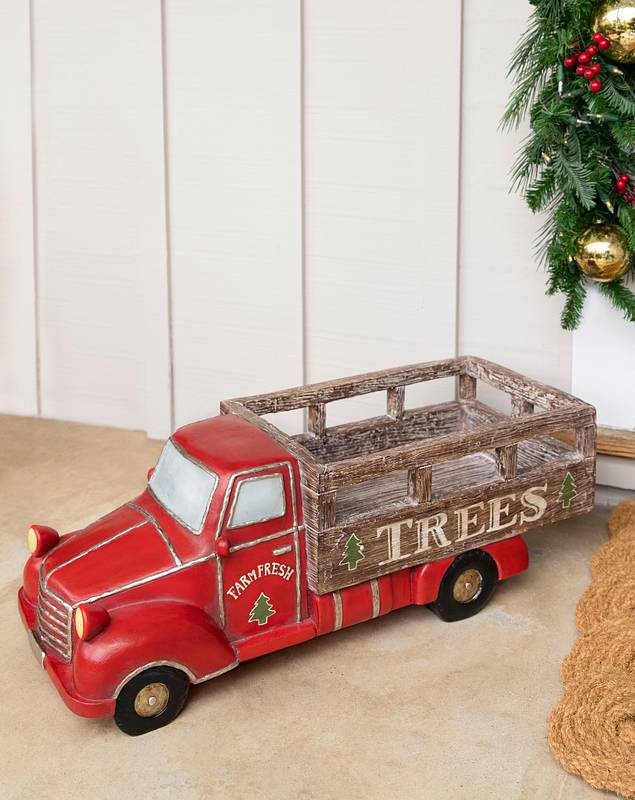Outdoor Tree Delivery Truck by Balsam Hill SSC