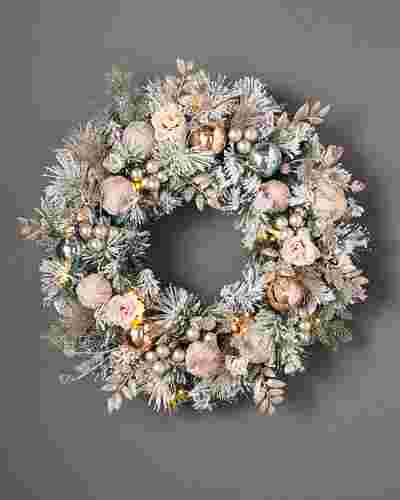 Winter Wishes Wreath by Balsam Hill SSC 10