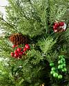 27in Winter Evergreen Potted Tree by Balsam Hill Closeup 10