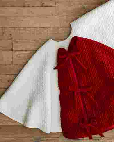 Plush Braid Tree Skirt by Balsam Hill Lifestyle 10
