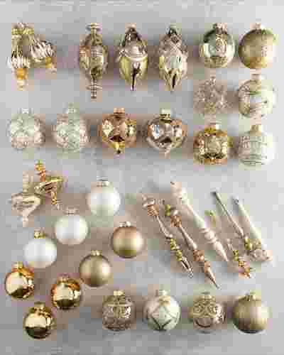 Biltmore Legacy Ornament Set 35 Pieces by Balsam Hill SSC 10