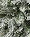 Frosted BH Balsam Fir Tabletop by Balsam Hill Closeup