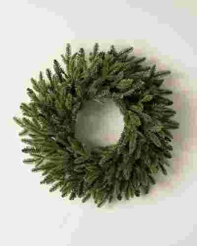 BH Fraser Fir Wreath by Balsam Hill