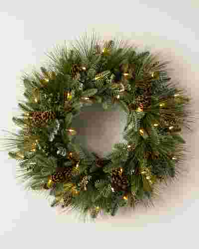 Wintry Woodlands Wreath by Balsam Hill SSC 10