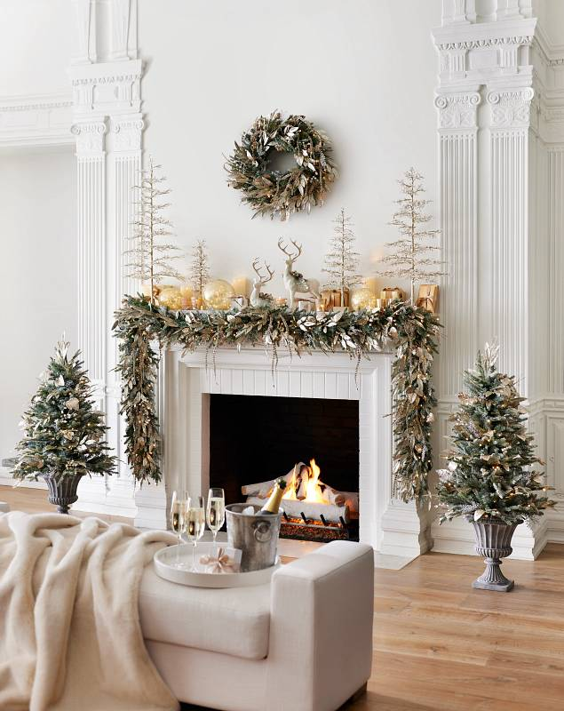 Champagne & Crystal Foliage by Balsam Hill Lifestyle 15