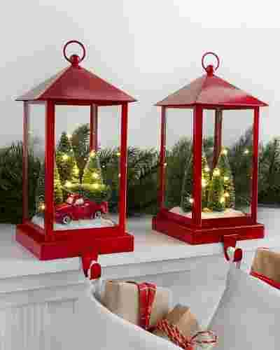 Lantern Stocking Holder by Balsam Hill