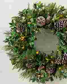Outdoor Woodland Evergreen Wreath by Balsam Hill SSCR