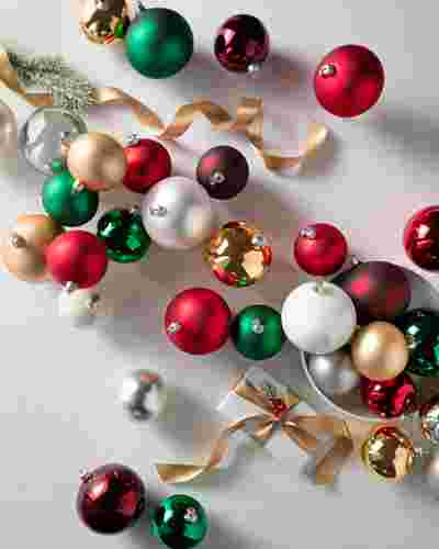 BH Essentials Classic Ornament Set by Balsam Hill