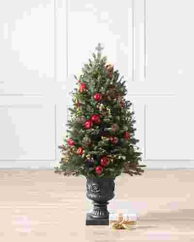 NWY-DP Norway Spruce Holiday Potted by Balsam Hill SSC 40