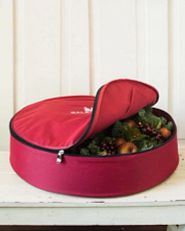 Storage bag for wreaths